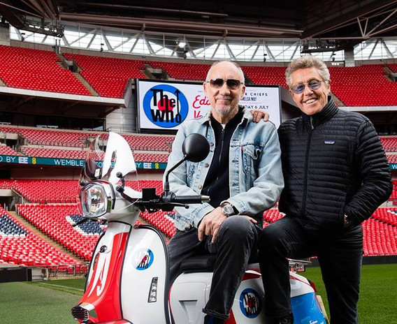 The Who and Scomadi at Wembley