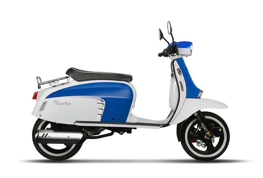 GT 125i AC - Blue/White