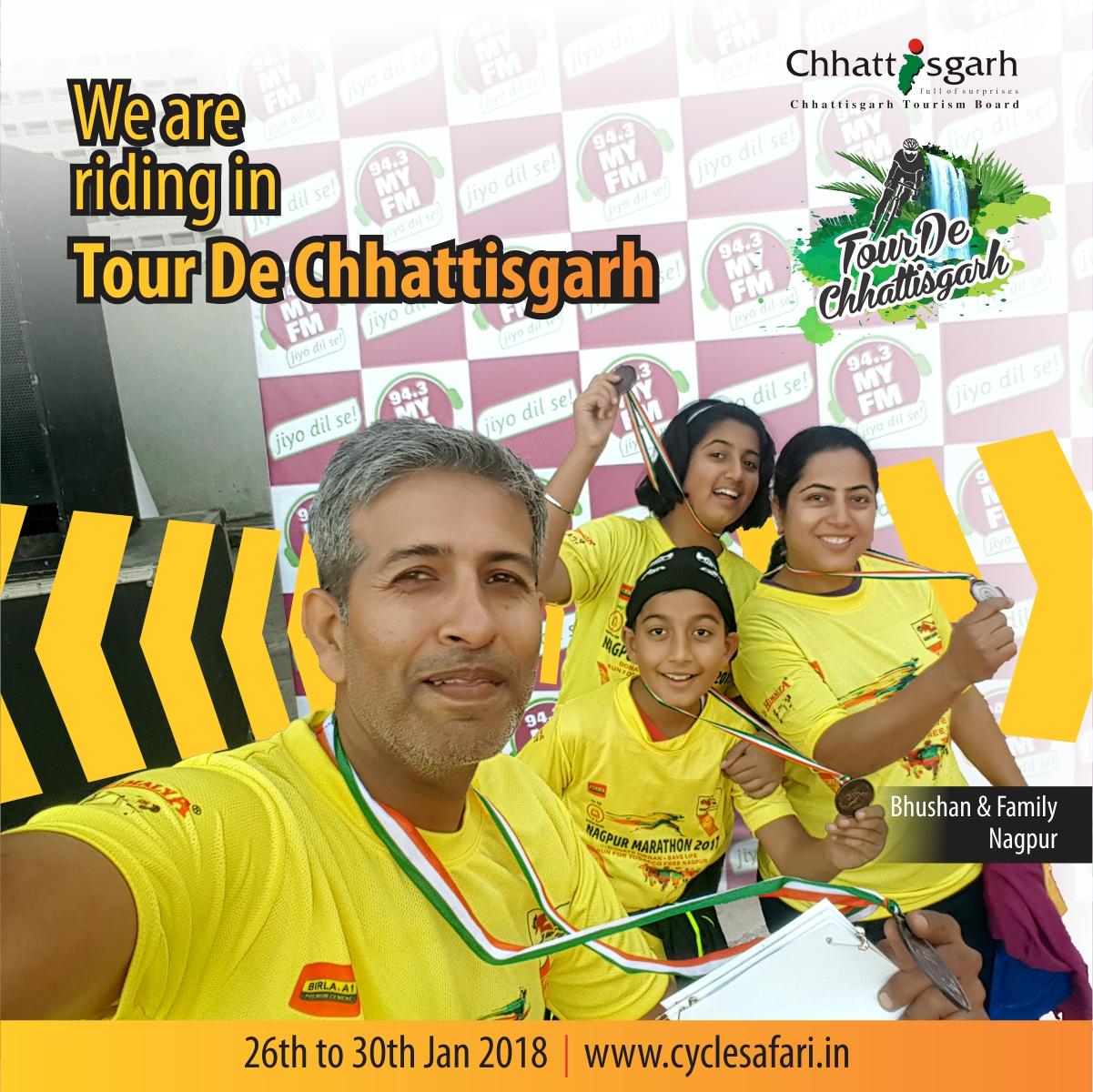 Bhushan & Family