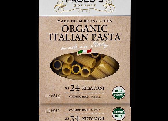 Organic Bronze Die Rigatoni