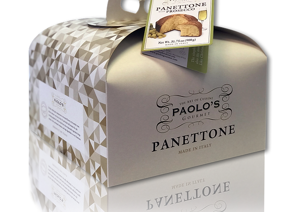 Panettone with  Prosecco Cream