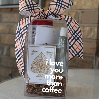 Personalized Coffee Lover Cube