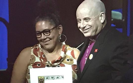 Suzanne Edwards-Acton & Bishop John H. T
