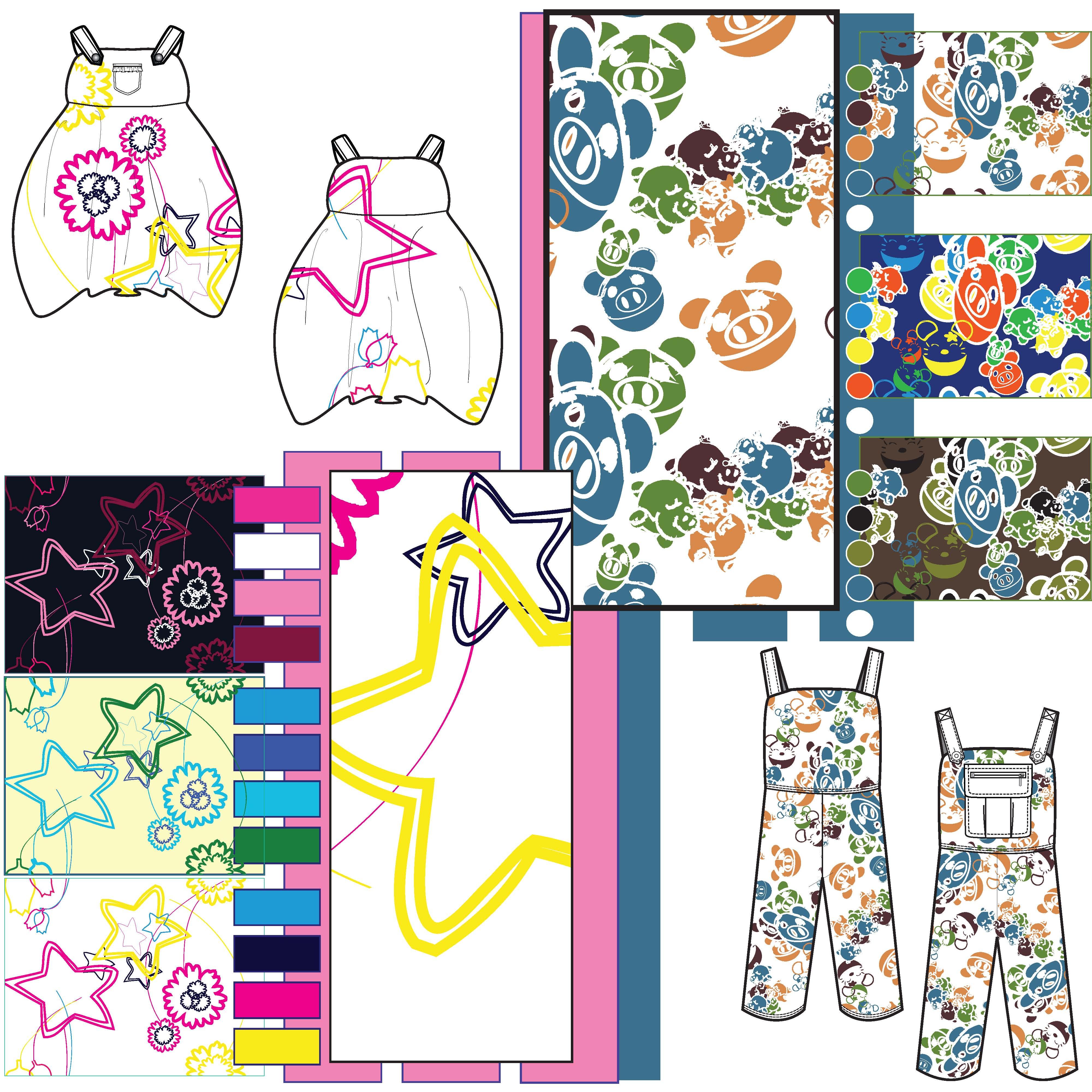 Repeat Pattern Design||Childrenswear