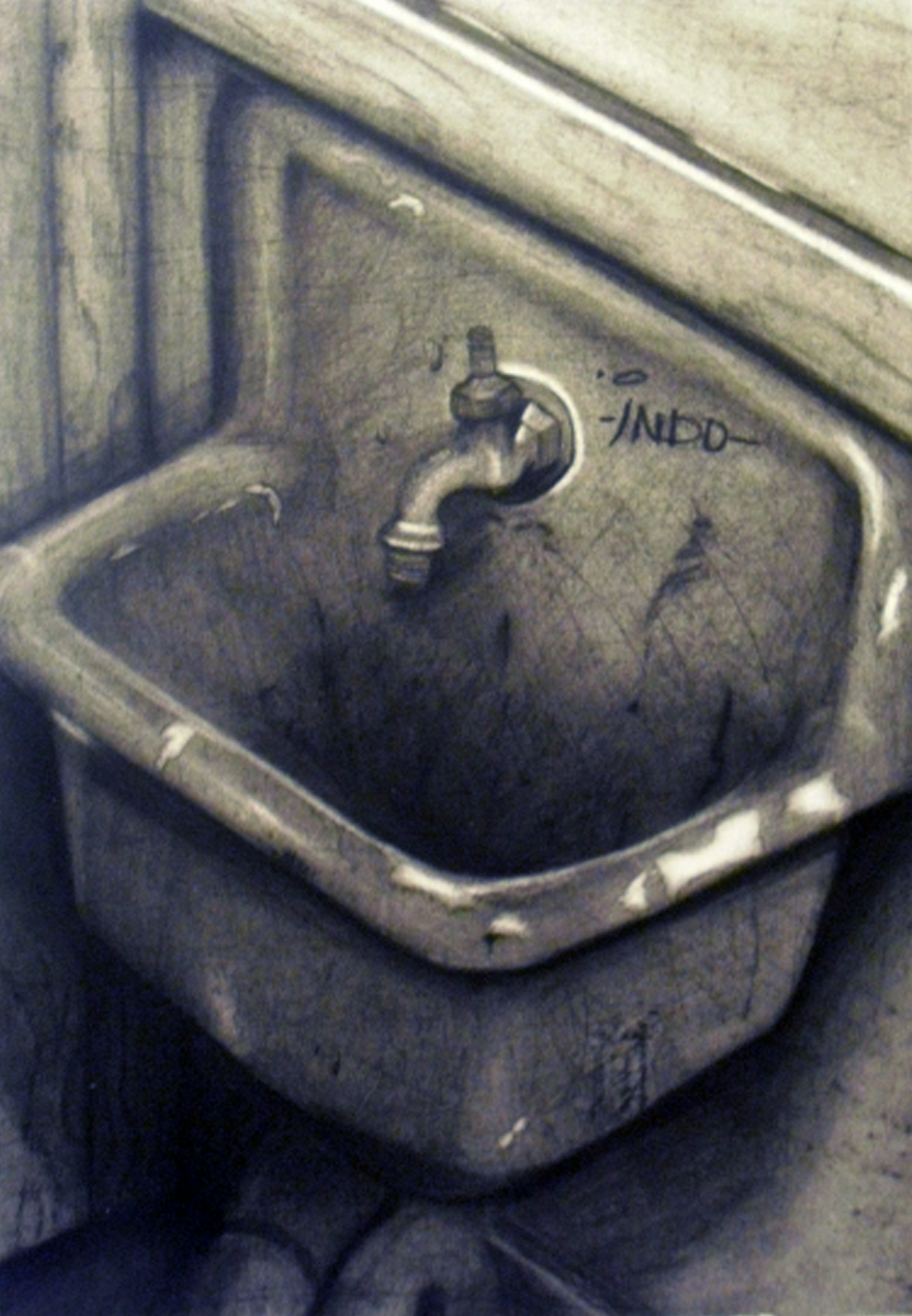 Drawing Two||Old Sink