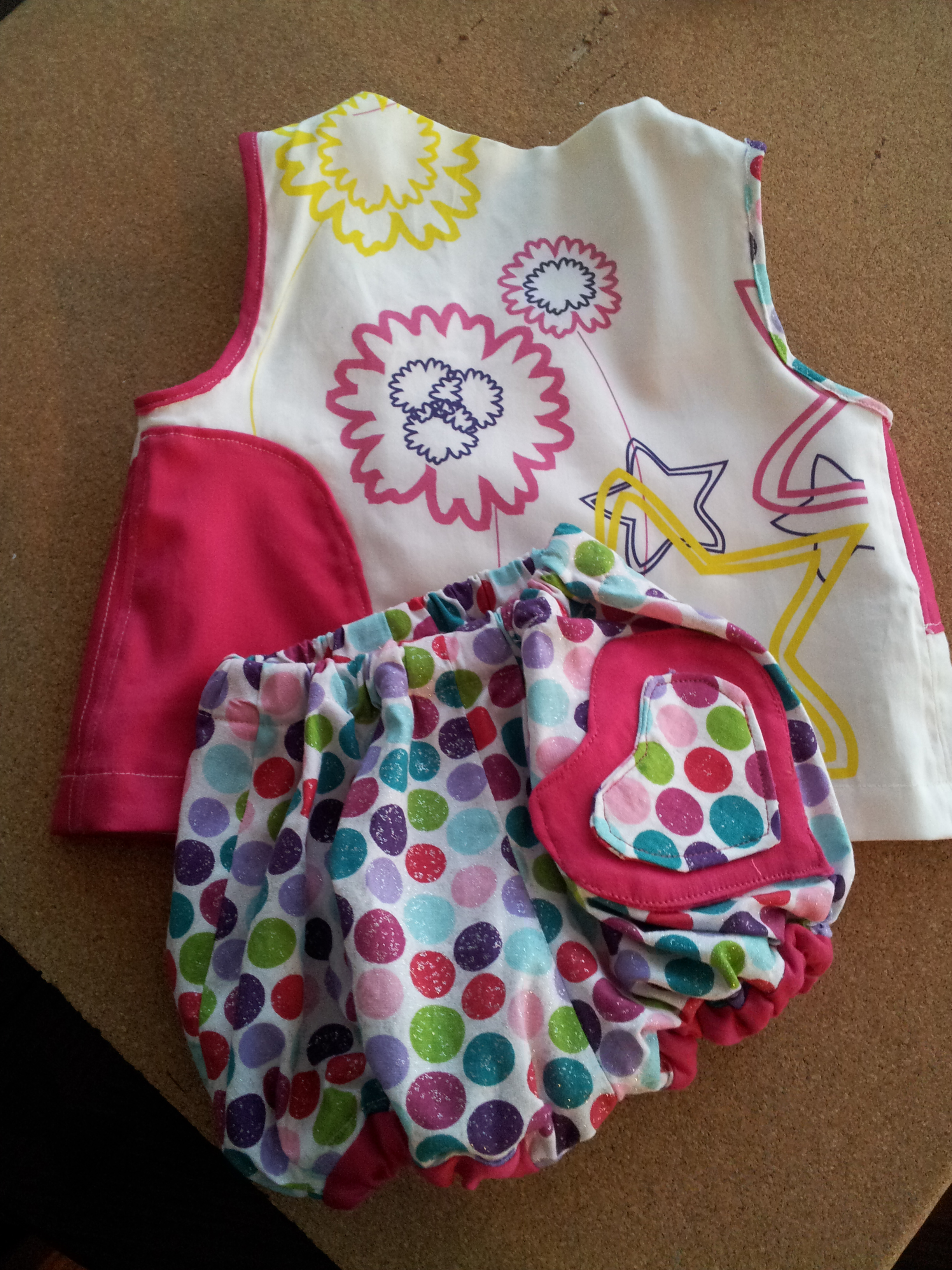 Ciao Bella Dress and Diaper Cover