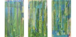 Unterwasser-triptychon