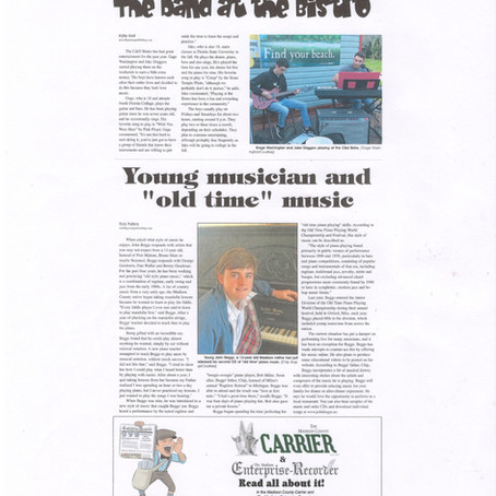 """Young Musician and """"old time"""" music"""