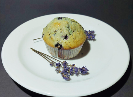 Prava sivka za pravi okus: Borovničevi mafini s pravo sivko
