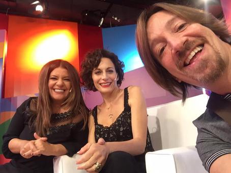 Hoy en BDV con Andrea, Marisa y Charly:-)