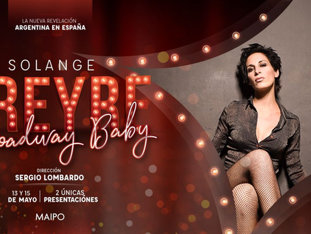Nace un nuevo sueño, un nuevo show y ahora en Baires en el Teatro Maipo el 13 y 15 de Mayo. Gracias