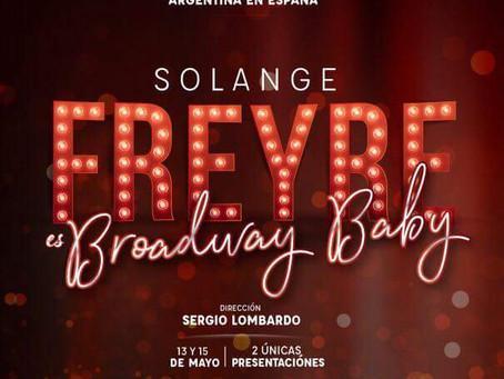 Solange Freyre en el Maipo