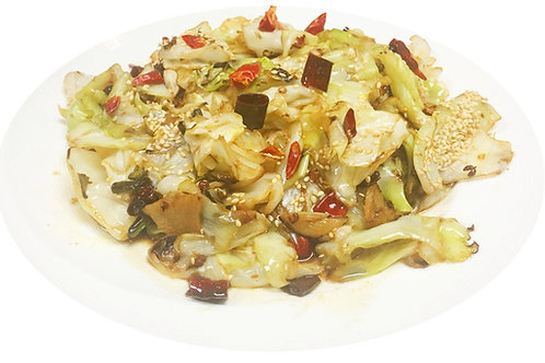Cabbage with Chili Sauce (Median Spicy)