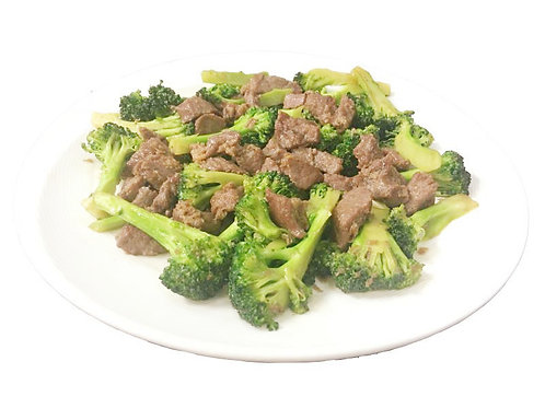 Fried Angus Beef & Broccoli