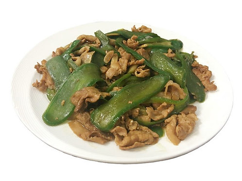 Sliced Pork  with Jalapeno  (Spicy)