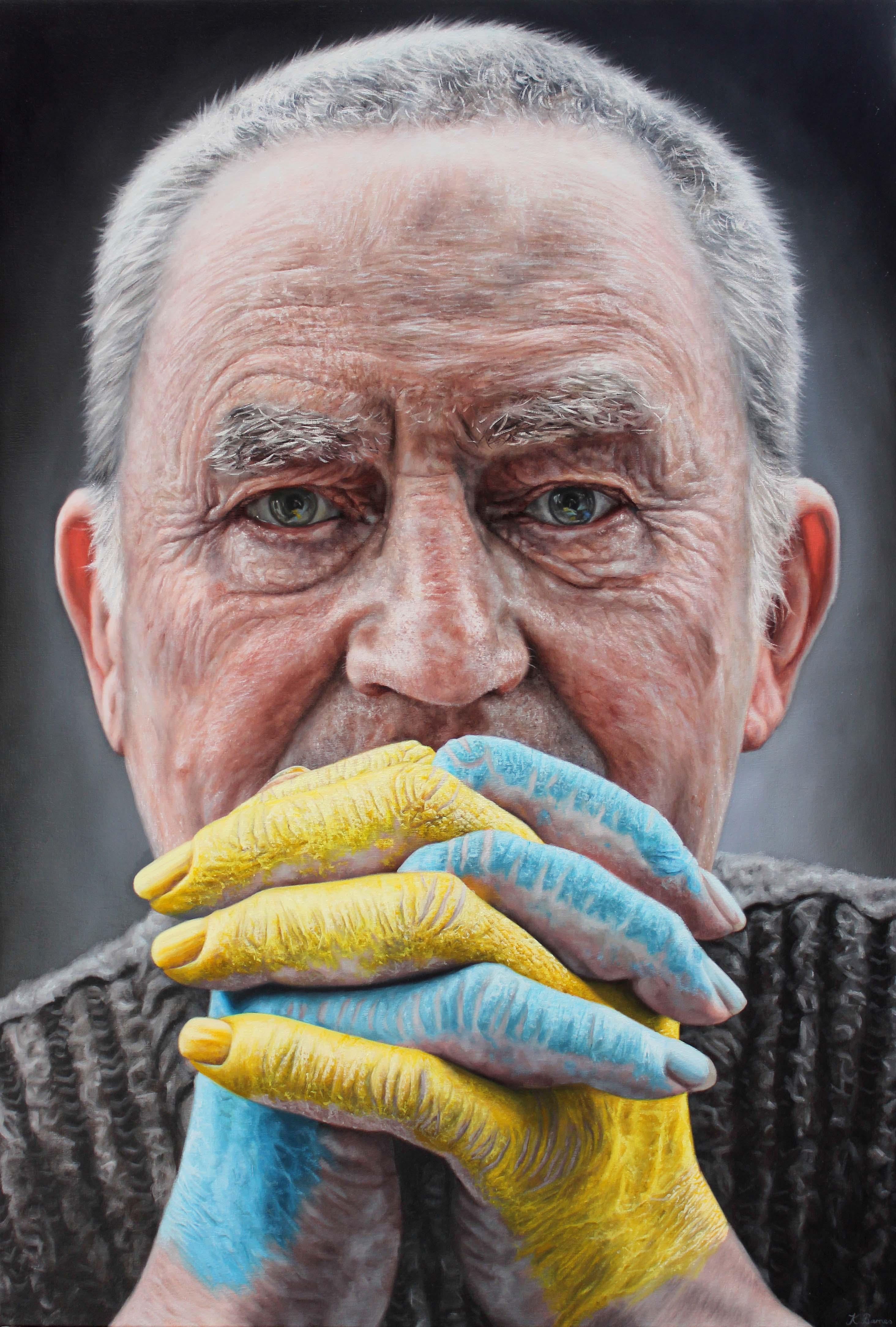 James, oil on canvas, 87 x 127 cm, Kyle Barnes
