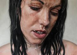 Stream, Oil on Canvas