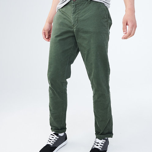 """NEW"" Stretch Chino Pants - Military Green"