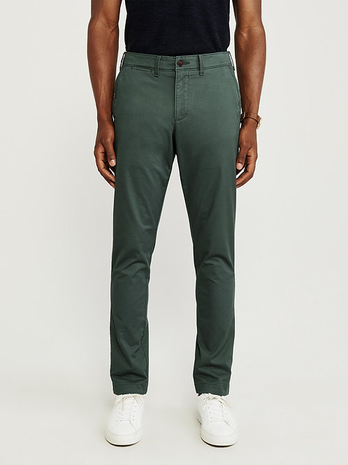 """""""NEW"""" Athletic Chino Pants - Evergreen"""