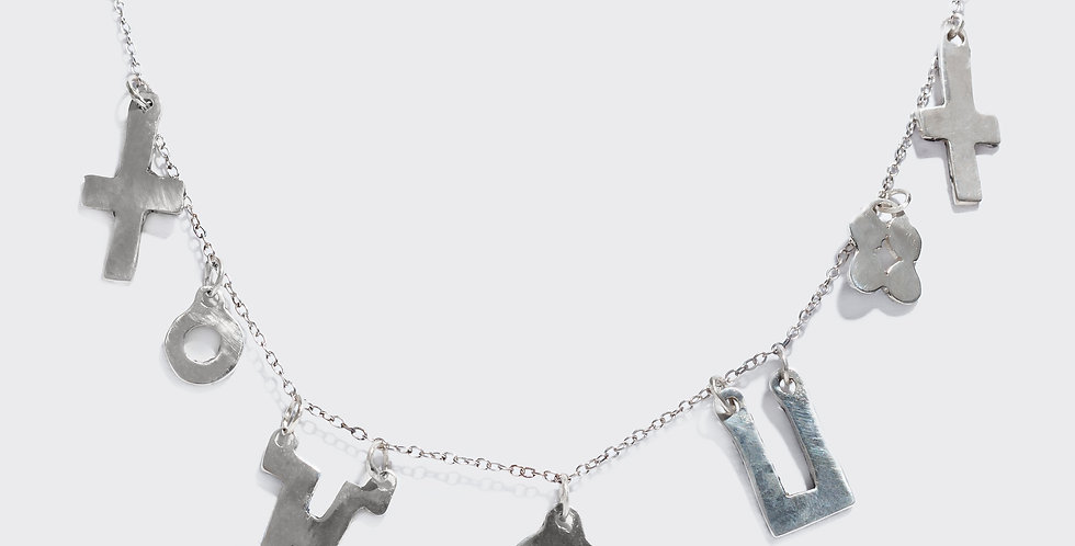 'FEMALE' CHARM NECKLACE
