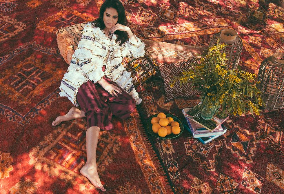 Mish Mish Marrakech Moroccan Womenswear Handira Coat