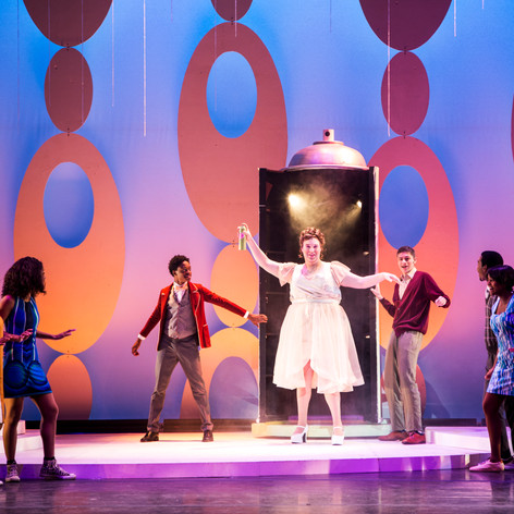 Jacob as Edna in Hairspray