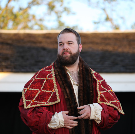 Jacob as Lord Capulet in Romeo and Juliet