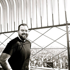 Jacob on top of the Empire State Building