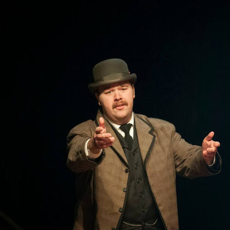 Jacob as J.P. Morgan in Ragtime