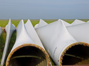 """Wind Turbine Blades Are Getting A """"Second Wind""""."""