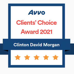 Clinton Morgan Receives Avvo's Clients' Choice Award For 2021