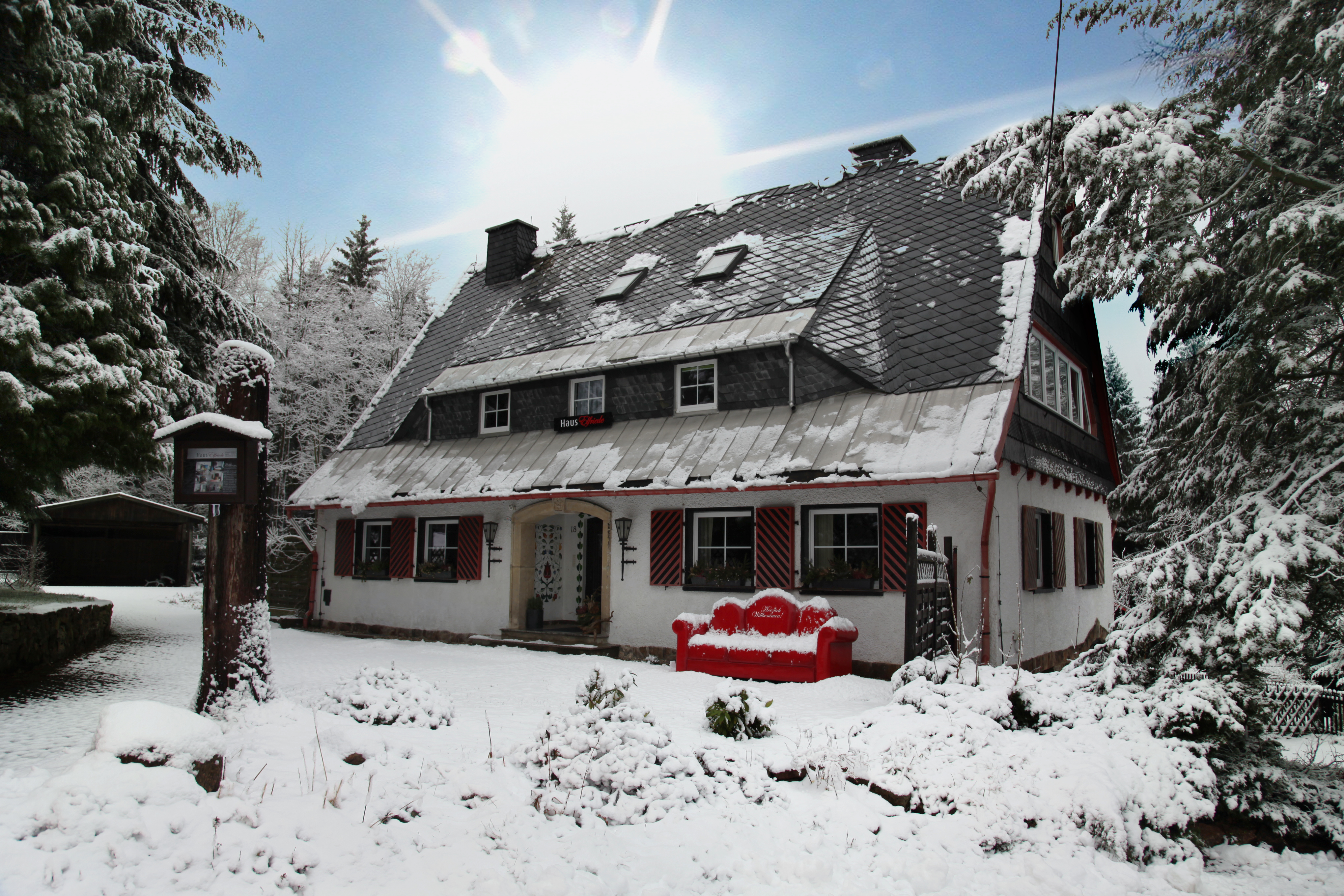 Elfriede-Ferienhaus-Oberbärenburg-Altenberg