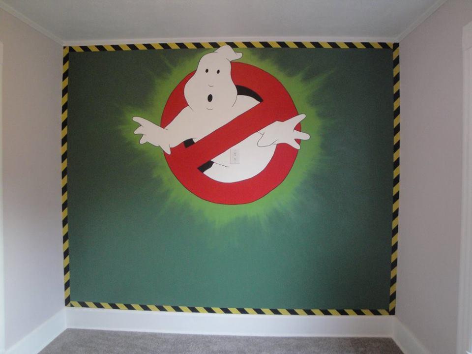Ghost Busters Mural