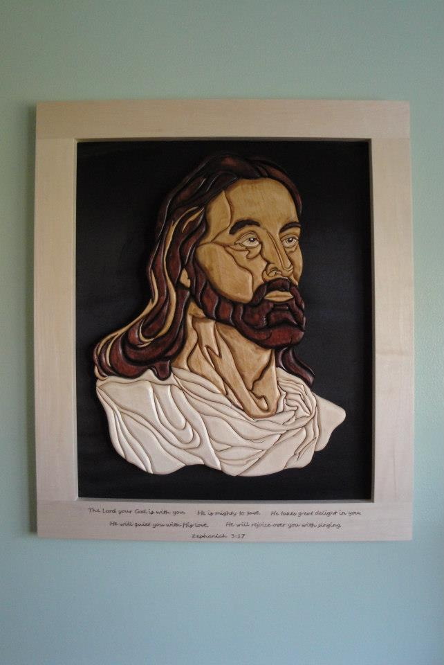 Jesus Wooden Wall Art