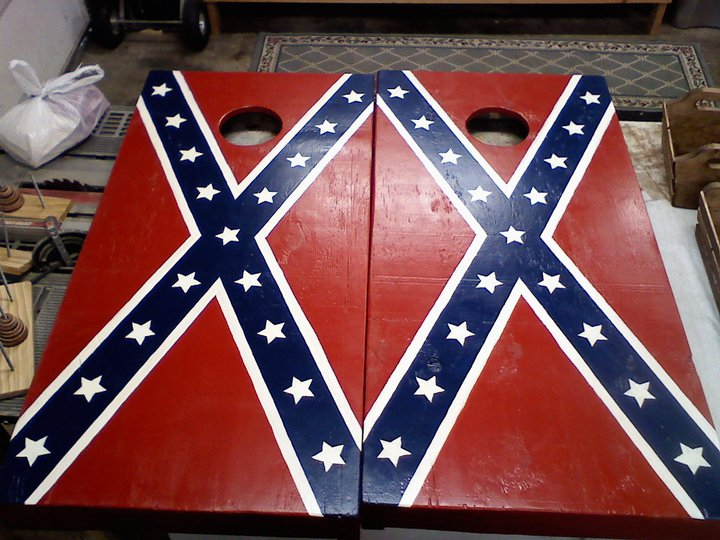 Confederate Corn Hole Boards
