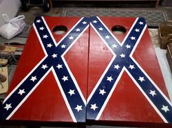 Confederate Corn Hole Boards