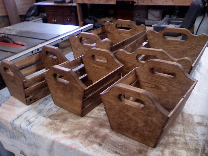 Wooden Baskets