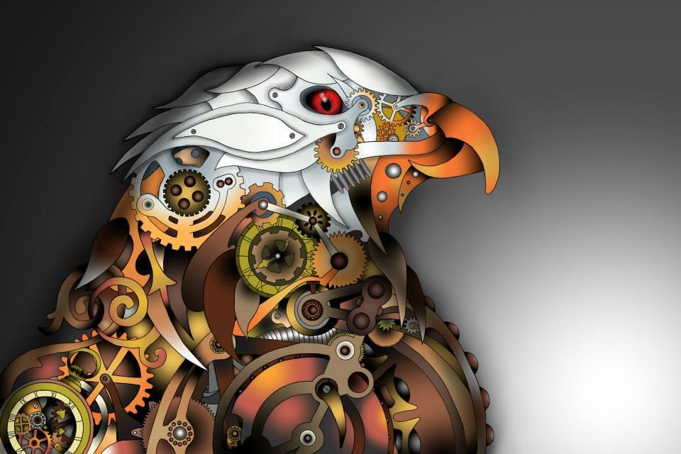 Gear Cog Eagle