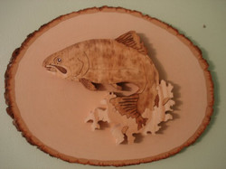 Spotted Bass Plaque