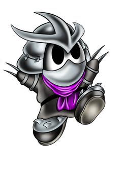 Shredder Shyguy mash-up