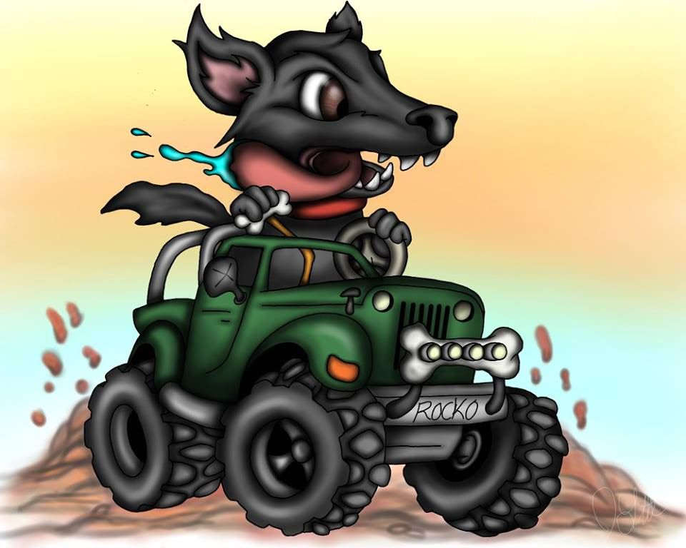 Dog n Jeep