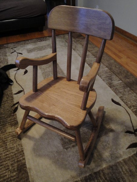 Custom Children Chair