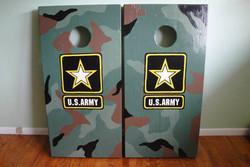 Army Corn Hole Boards