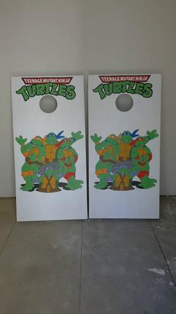 Ninja Turtle Corn Hole Boards