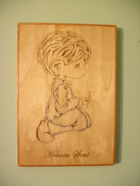Woodburning Plaque