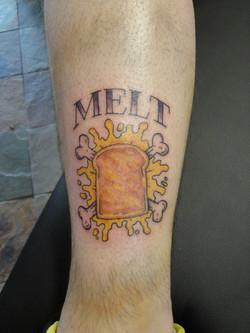 Melt tattoo
