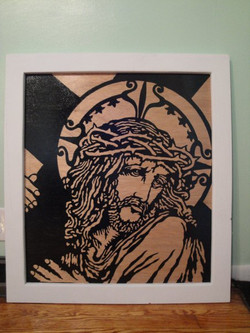 Silhouette Jesus