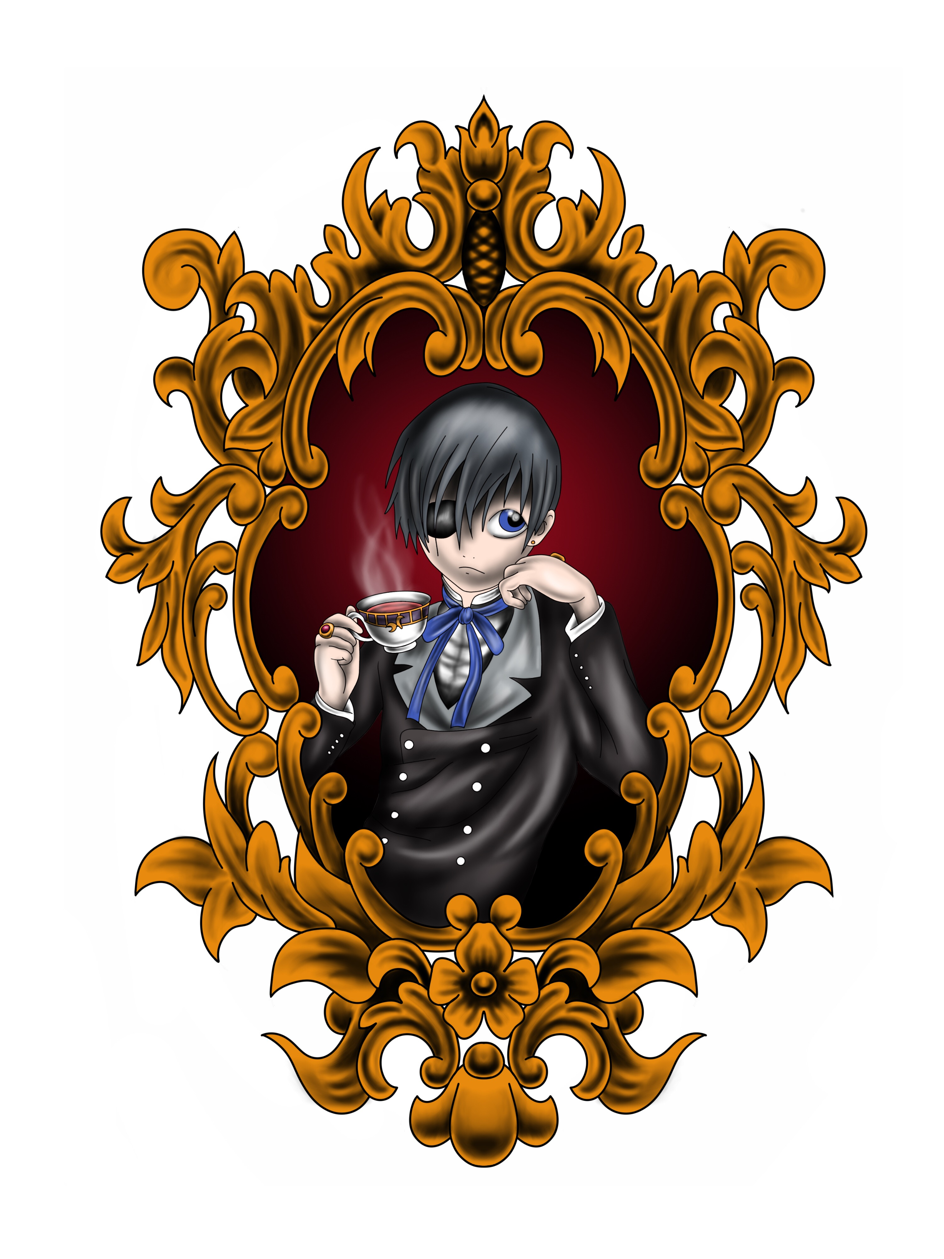 Black Butler Drawing