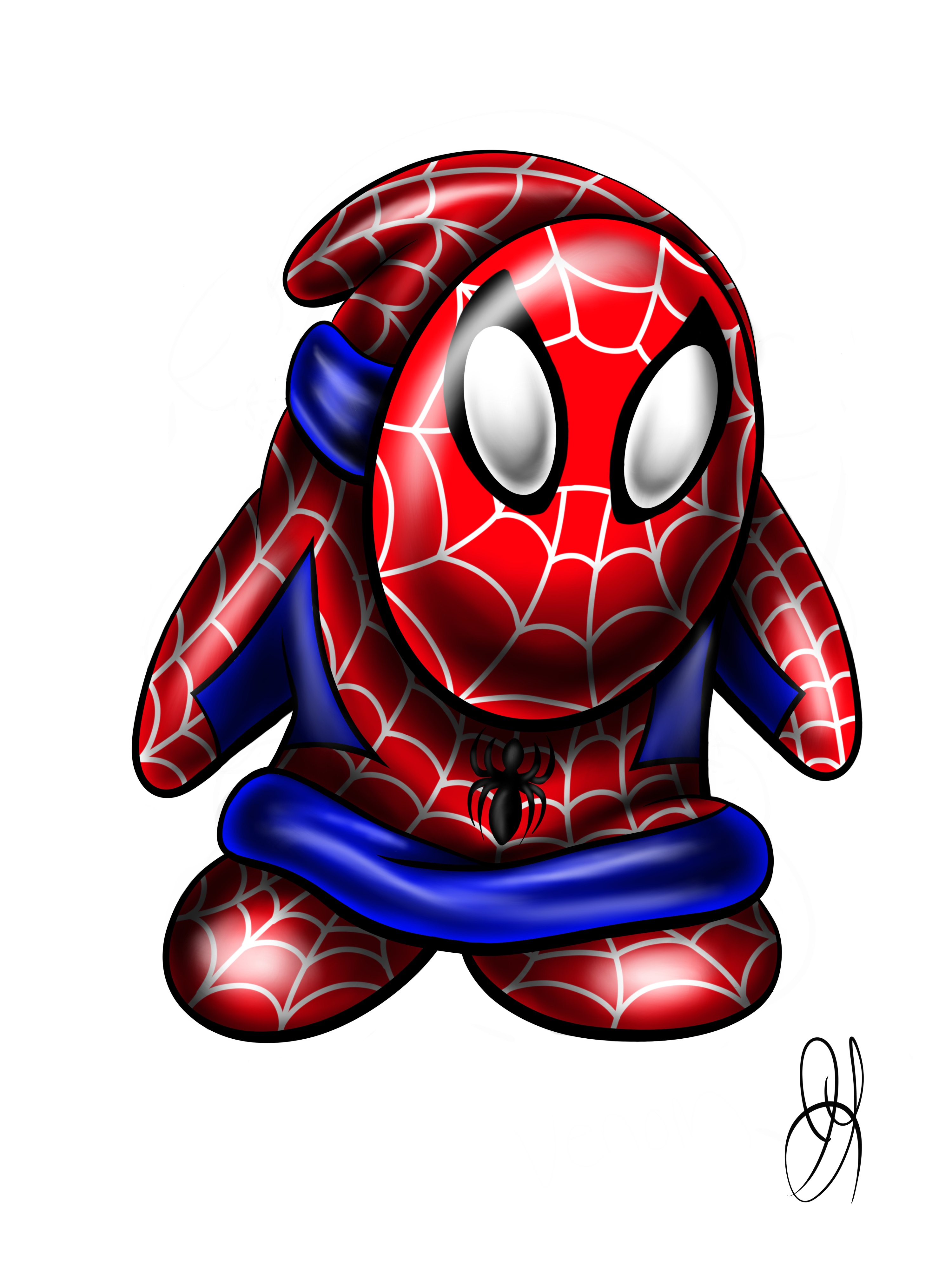 Spiderman Shyguy mash-up