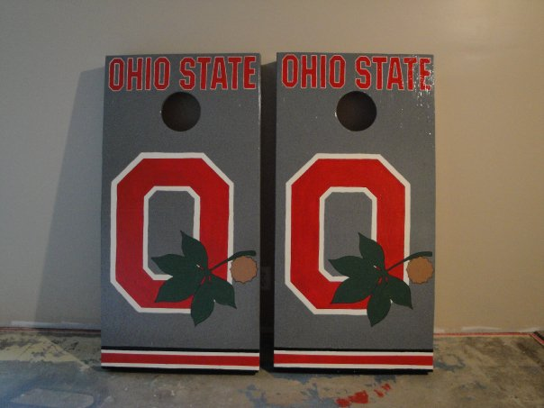 Ohio State Corn hole Boards